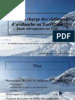 Avalanche en Tarentaise