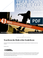 Tear Down the Walls of the Youth Room