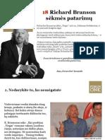 Forum one. 18 Sero Richard Branson Sekmes Patarimu