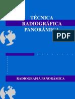 TÉCNICA RADIOGRÁFICA PANORÂMICA