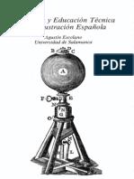 ESCOLANO BENITO, Agustín. Ilustración y educación técnica en la Ilustración española