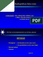 TÉCNICAS RADIOGRAFICAS INTRA-ORAIS