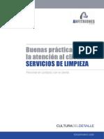 Manual de Buenas Practicas de Atención al cliente Servicios de limpieza