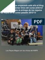 Reyes Magos Curso 2012- 2013