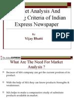 Indian Express Market Anaalysis
