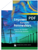 IEA (2008) Empowering Variable Renewables – Options For Flexible Electricity Systems