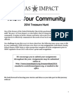 2014 UMW Treasure Hunt