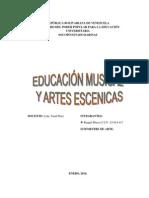 Informe de Educacion Musical
