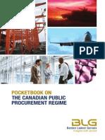 Canadian Public Procurement Regime