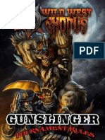Gunslinger Tournament Rules January 2014
