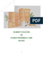 Market Analysis of Everyuth Derma Care Range