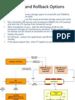 Backup and Rollback Options v1