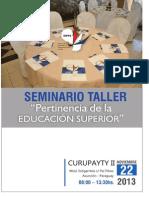 Informe Seminario Educacion Idpps