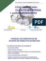 El Cambio Climatico y Los Hidratos de Metano