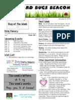 January 24 Newsletter