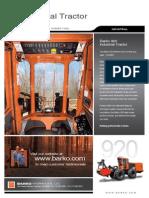 Barko 920 Industrial Tractor