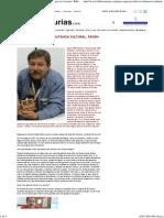 Paco Ignacio Taibo II_ Militancia cultural, pasión por los lectores _ Biblioasturias