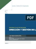 Programa de Dirección y Gestión de la Capacitación