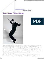 Pequeñas Grandes Cosas » Entrevista a Pablo Alborán