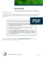 MarketplaceApp Checklist Generic