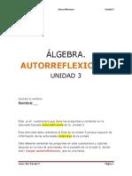 (26)CUESTIONARIO AUTORREFLEXIONES U3