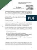 Dictamen Final Del Proyecto de Ley 1454-2012-IC - Prohibicion de Maltratos y Sacrificio Animal Como Parte de Espectaculos Publicos o Privados