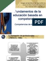 Fundamentos de La Educacion Basada en Competencias
