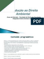 DIREITO AMBIENTAL - CURSO DE EXTENSÃO - 2013 - aulas powerpoint