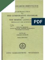 Moscati Comparative Grammar of Semitic Languages