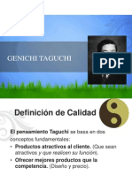SGA GURUS 6.-Genichi Taguchi