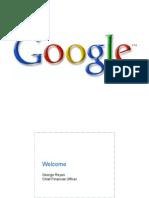 Google 2006 Analyst Day Presentation