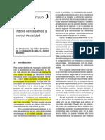 Cap 3. Indices de Resistencia y Control de Calidad
