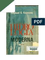 Hidrologia Moderna - Raphael Kazmann