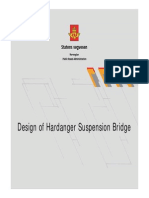 Björn Isaksen - Design of Hardanger Suspension Bridge