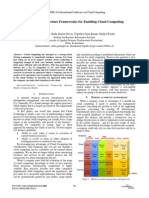 Enterprise Architecture Frameworks for Enabling Cloud Computing