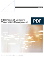 8 Elements of Complete Vulnerability Management