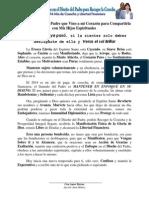 DECLARACION PROFETICA 2014