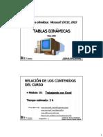 Curso de Excel Avanzado - Modulo 10 - Tablas Dinamicas