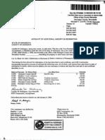 Affidavit Lourdes Rodriguez Bradley Loch Roberto Rodriguez IREP Risk AHR Construction