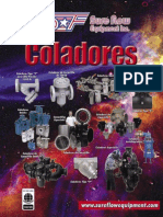 56 Page Spanish Strainer Catalog Coladores