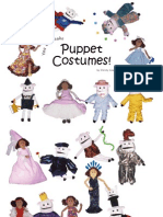 You can make Puppet Costumes!