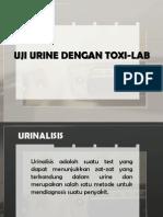 Kelompok 5 (Uji Urine Dengan Toxi-lab Ab