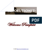 1 - Revolutioniz Welcome Pamphlet