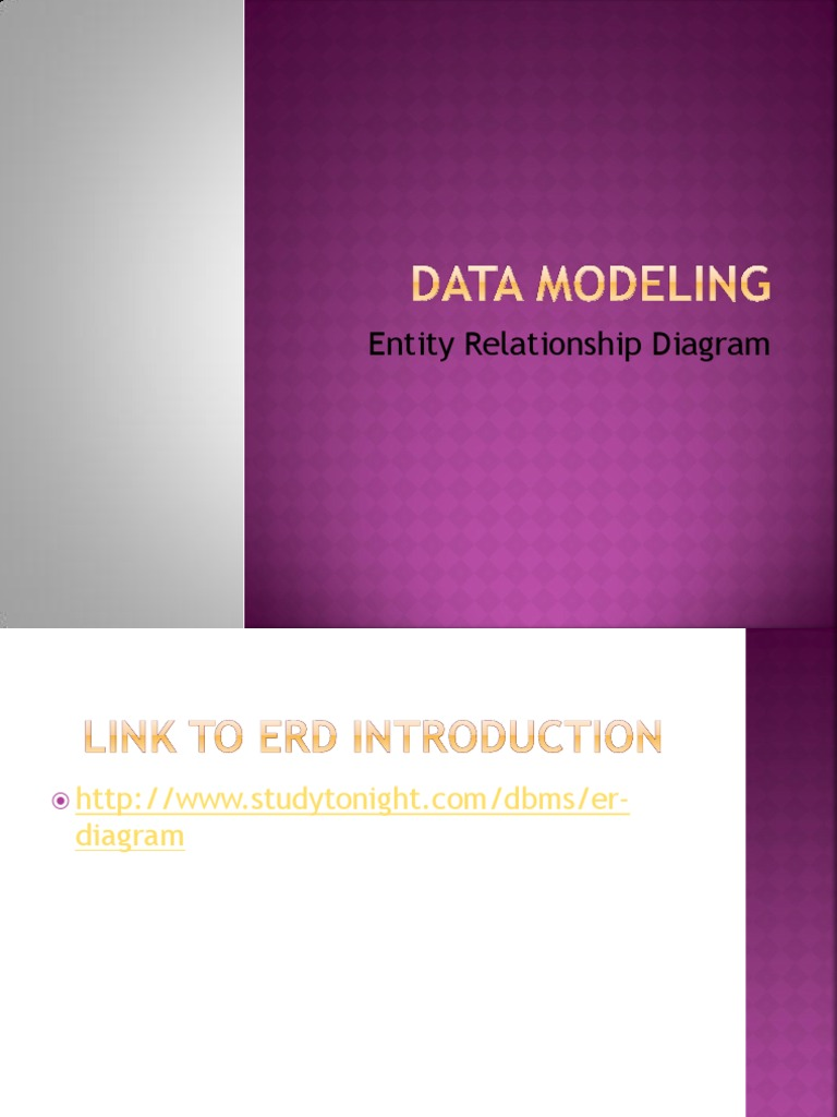 Introduction to erd data management conceptual model ccuart Choice Image