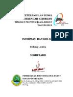 Info Dan Kisi-kisi Sekretaris