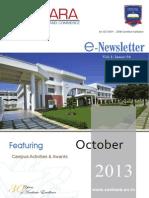 SANKARA E-Newsletter-October-2013 Vol-1 Issue-4