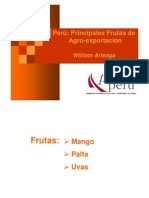 Exportacion de Frutas