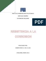 Resistencia a La Corrosion
