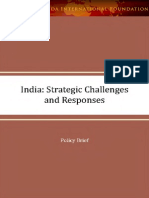 India Strategic Challenges and Responses