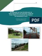 Revitalização da Orla Rio Branco em Caracaraí - Capítulo 2 - Autores Ornilda Silva e Ismar Lima.